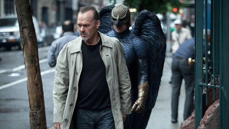 Acteur Michael Keaton als Riggan in de film 'Birdman'.