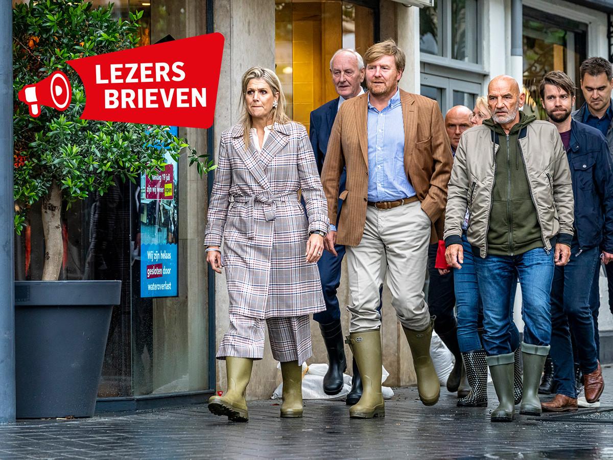 Koning Willem-Alexander en koningin Máxima bezoeken Valkenburg.
