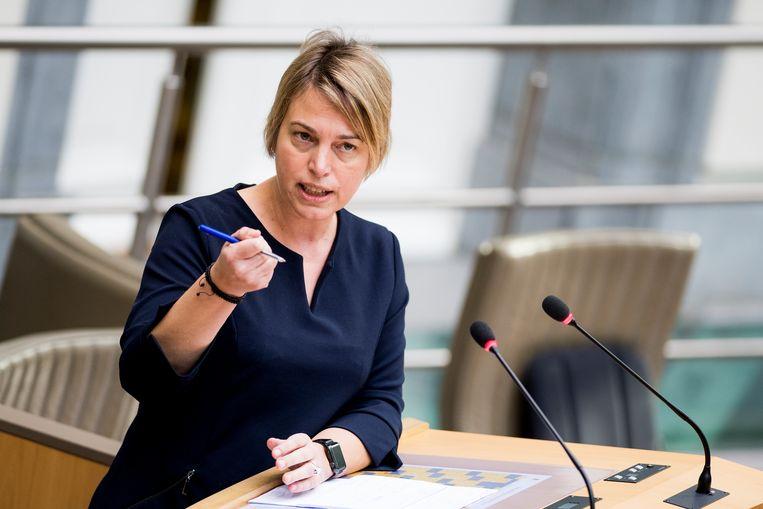 Vlaams minister van Omgeving Joke Schauvliege (CD&V). Beeld BELGA