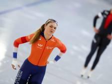 Het stapje terug van Jutta Leerdam: 'Maar ik blijf wél op een hoog niveau'