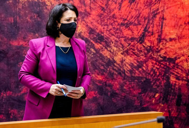 Tweede Kamervoorzitter Khadija Arib.  Beeld ANP - Bart Maat