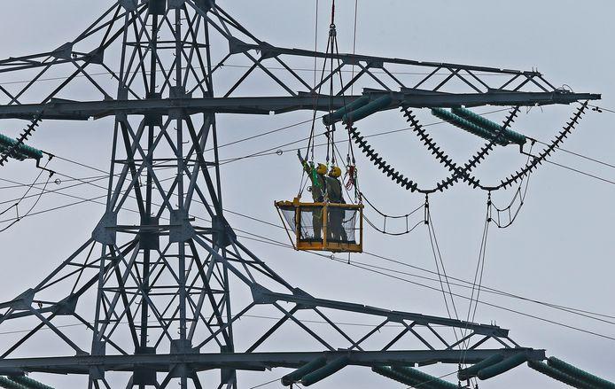 Geervliet Elektriciteitsmasten