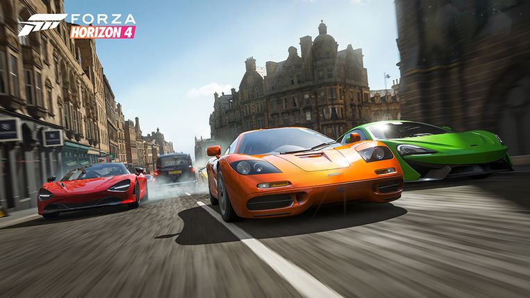Forza Horizon 4 Edinburgh Race Beeld rv