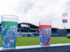 PEC Zwolle geeft plastic wegwerpbekers stadionverbod en voert statiegeld in