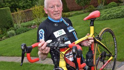"""Victor Campenaerts achterna: Achille (84) wil zijn werelduurrecord bij de 80-plussers nu ook officieel op zijn naam schrijven én verbeteren: """"Ik heb er alle vertrouwen in dat het me nog eens lukt"""""""