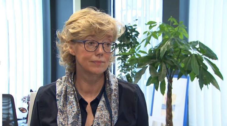Veerle Heeren (CD&V), burgemeester van Sint-Truiden. Beeld VTM NIEUWS