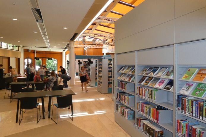 De nieuwe bibliotheek in De Meander in Gestel. Voor de bibliotheken is extra geld uitgetrokken.