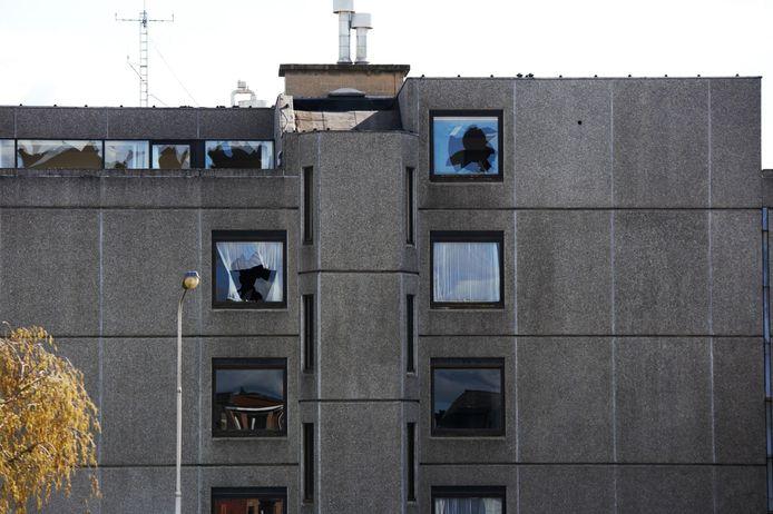 Het voormalige ziekenhuis Sint-Maarten in Kortrijk viel al vaker ten prooi aan vandalenstreken.