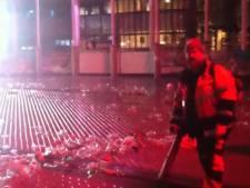 Schoonmakers razen als tornado over Marktplein