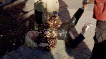 Katy Perry zakt in elkaar na gaslek tijdens opnames 'American Idol'