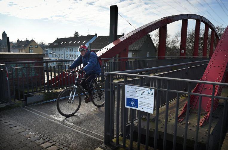 Radschnellweg R1 Beeld Marcel van den Bergh/de Volkskrant