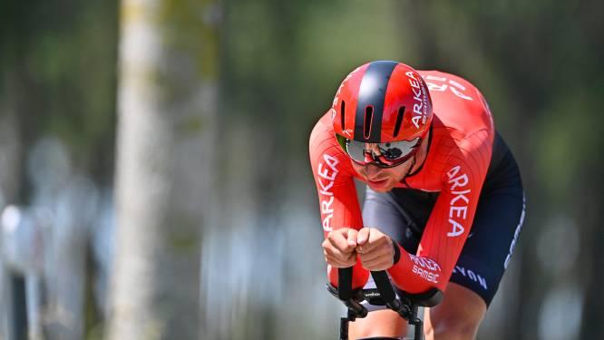 """Amaury Capiot blikt met gemengde gevoelens terug op de Baloise Belgium Tour: """"Geen hoogvlieger, maar voel me steeds beter"""""""