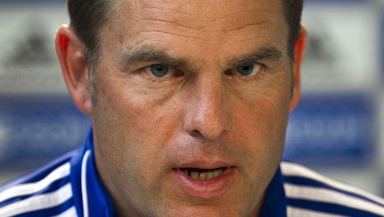 Trainer Frank de Boer kampt met een gehavende selectie. Foto ANP Beeld anp