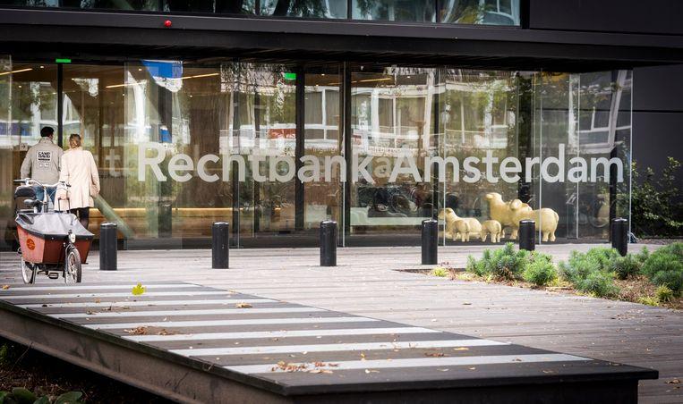 De rechtbank in Amsterdam.  Beeld ANP