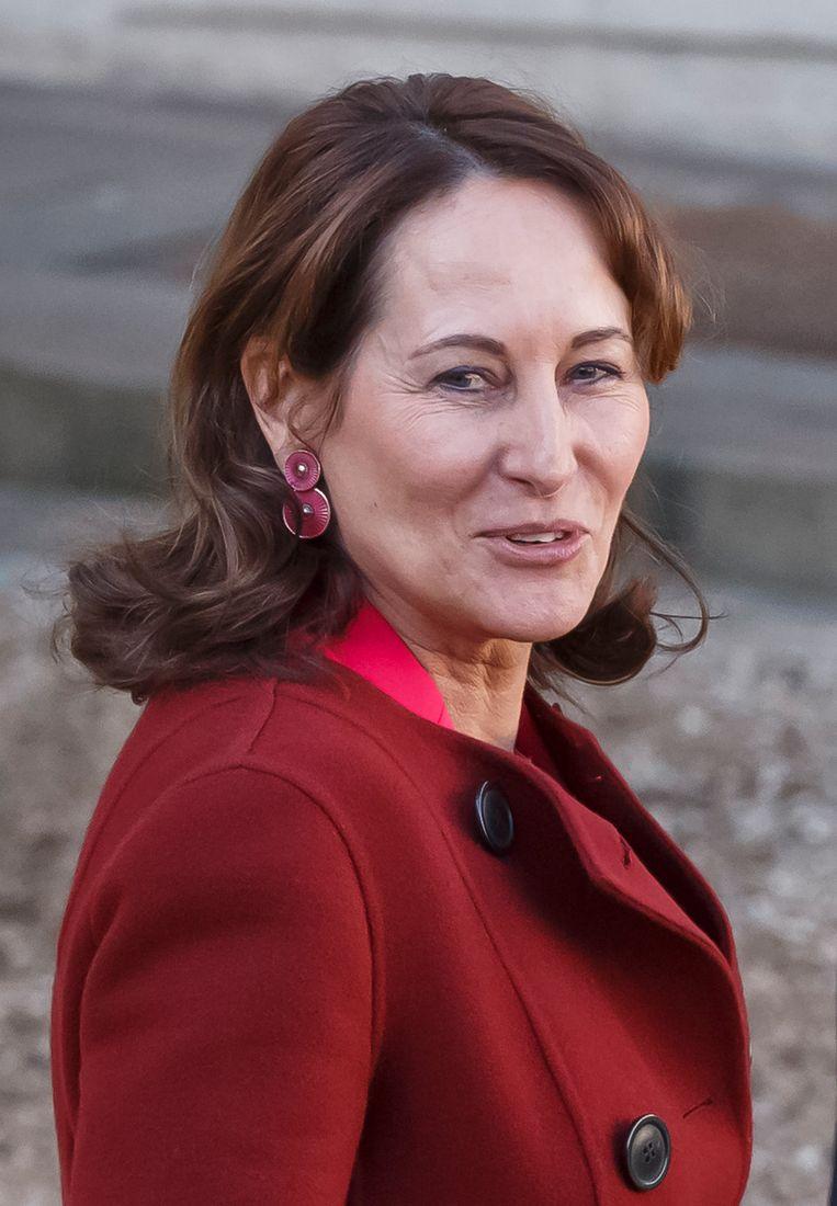 Huidige minister van Milieu Ségolène Royal zou wel eens de nieuwe minister van Buitenlandse Zaken kunnen worden. Beeld AP
