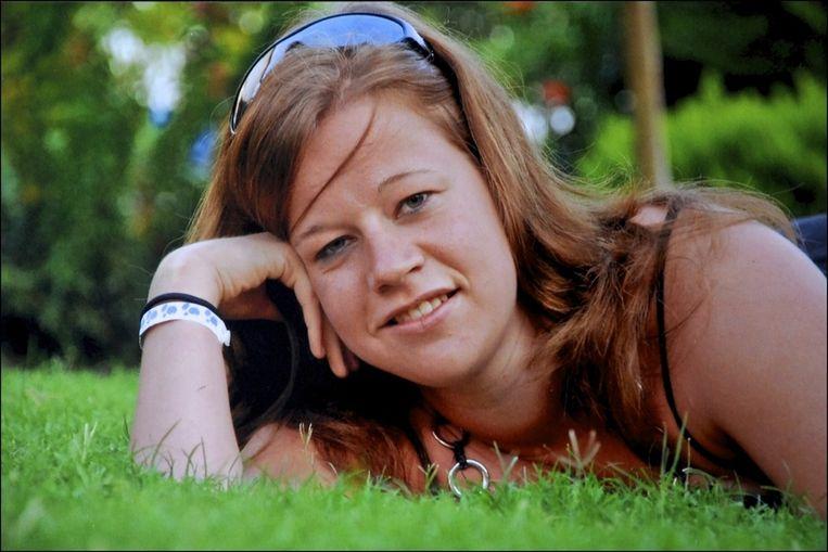 Slachtoffer Britta Cloetens.