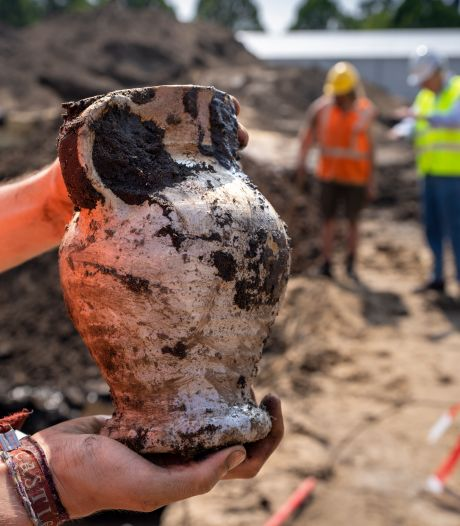 Grootse opgraving in centrum Vught: 'De sporen zeggen iets over het ontstaan van het dorp'