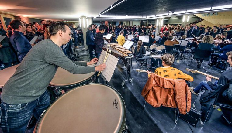 De muzikanten steken samen de dansklassieker van Goose in een ander jasje.