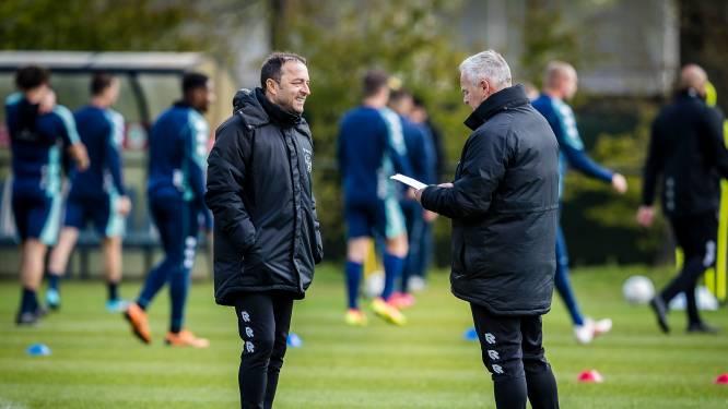 Petrovic leidt Willem II-training en lijkt fit genoeg voor PSV-thuis