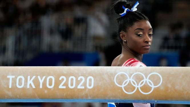 """Achteraf gezien was ze er liever niet bij geweest op de Spelen, Simone Biles: """"Ik had al ruim voor Tokio moeten stoppen"""""""