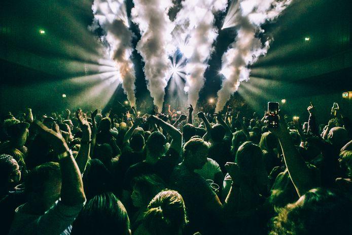Spektakel tijdens Flow in Musis in Arnhem, foto ter illustratie
