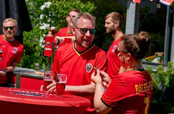Bierbeek, Belgium - June 10 :   Red Challenge Bierbeek Ek Dorp hoogstraat June 10, 2021 in Bierbeek, Belgium, 10/06/2021 ( Photo by Vincent Duterne / Photonews