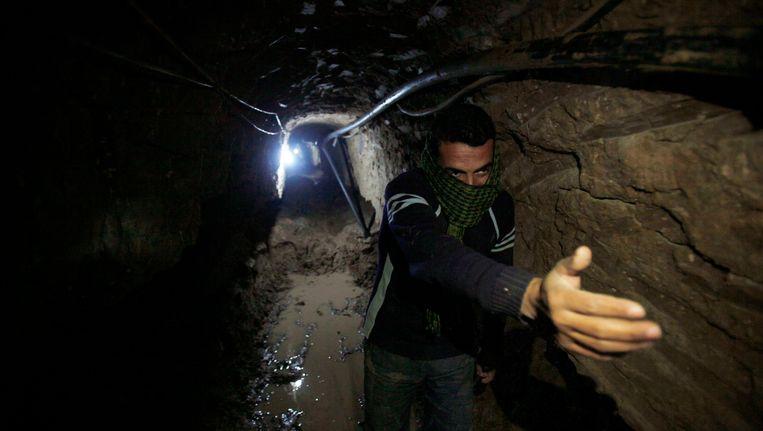 Een tunnel naar Sinaï Beeld REUTERS