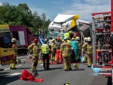 'Zeer veel' automobilisten op de bon voor filmen truckongeval A12