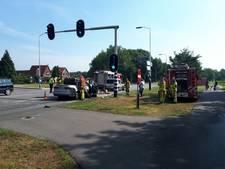 Automobiliste gewond bij kop-staartbotsing in Bredevoort