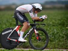 Kragh Andersen snelste in tijdrit, Pedersen blijft leider