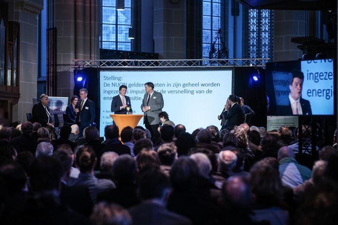 Het Gelderse Klimaat- en Energiedebat in Zutphen.