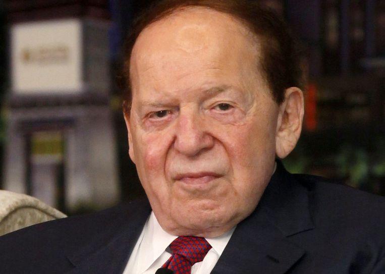 Superdonor Sheldon Adelson Beeld ap