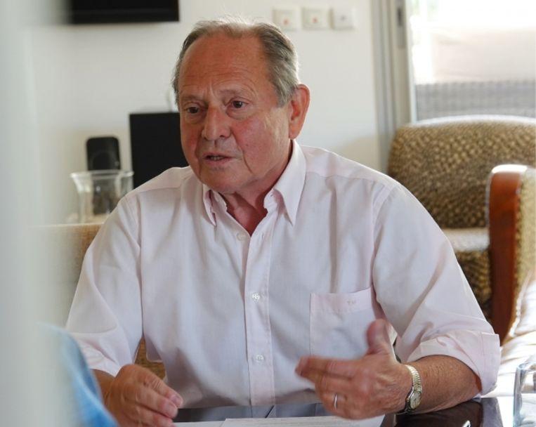 Tony Mary: 'De politici laten de boel rotten, terwijl onze economie voor de grootste omwenteling staat sinds de stoommachine. Tegen 2030 heeft 70 procent geen job meer.' Beeld