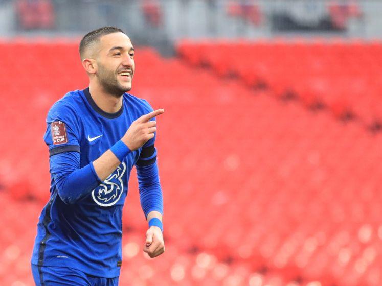 Ziyech schiet Chelsea naar FA Cup-finale