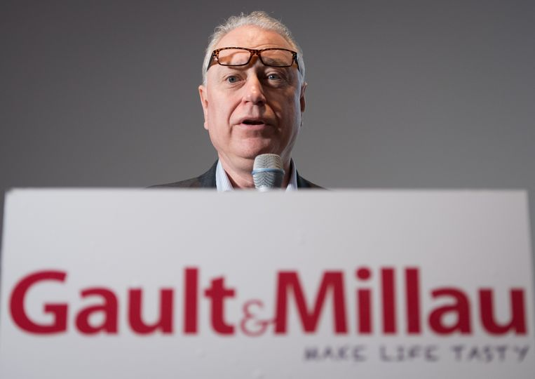 Gault Millau-topman Marc Declerck. Beeld BELGA