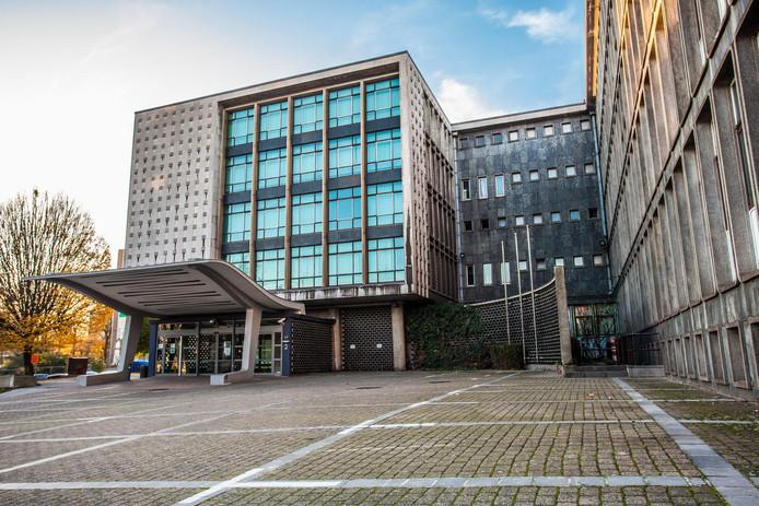 Le palais de justice de Charleroi.