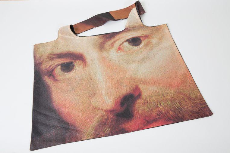 De tote bags met Rubens erop