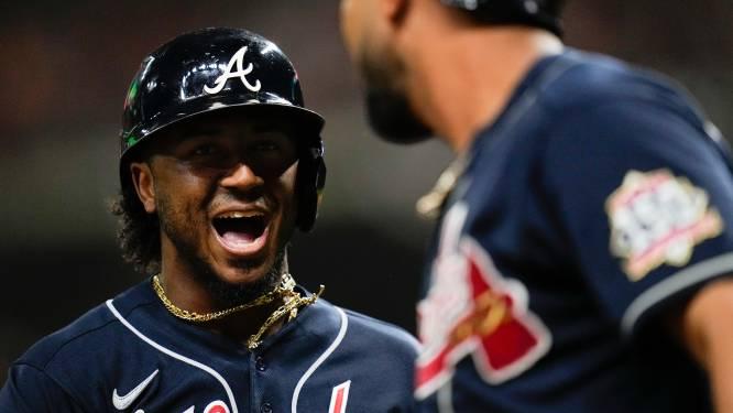 Atlanta Braves en 'Taco Hero' Ozzie Albies winnen eerste duel in World Series