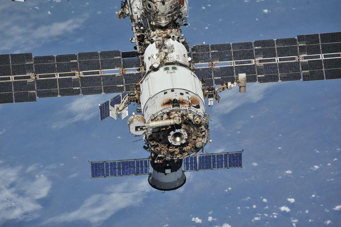 Het ruimtestation ISS.