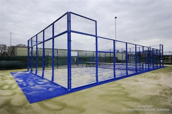Padelbaan op complex van tennisvereniging in Neede