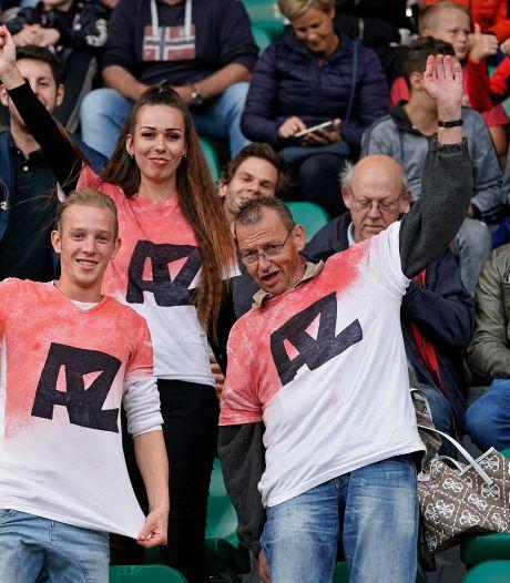 Supporters AZ leveren seizoenkaart niet in na dakdrama: 'Juist nu blijven we club trouw'
