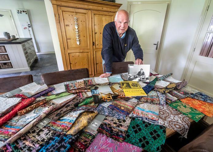 Michiel Lenssen was petekend van Piet Manders en heeft veel tijd gestoken in het samenstellen van de museumcollectie.