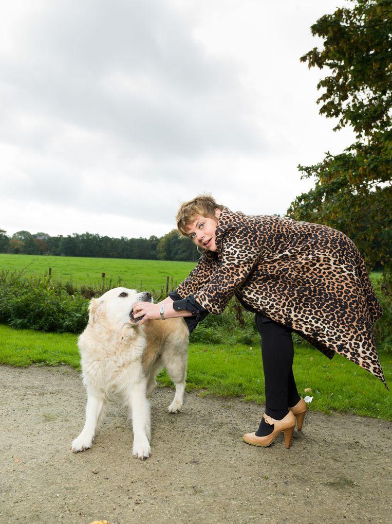 Janine Janssen  Beeld Ivo van der Bent