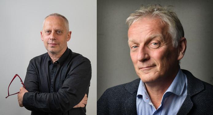 Teun Staal en Rob Wissink gaan met elkaar in debat.
