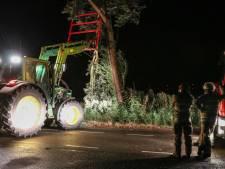 Storm trekt spoor door regio: brekende bomen en takken