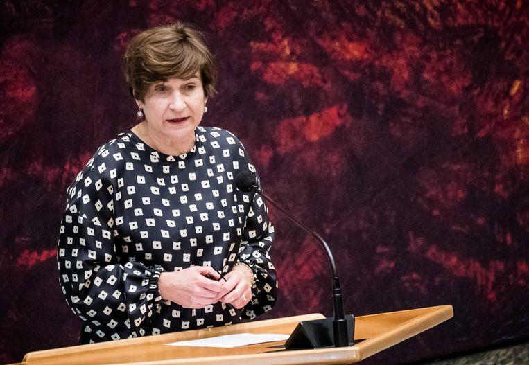 Lilianne Ploumen (Pvda): 'Een verplichte bedenktermijn doet geen recht aan het proces dat vrouwen tot de beslissing van een abortus brengt.' Beeld Bart Maat, ANP