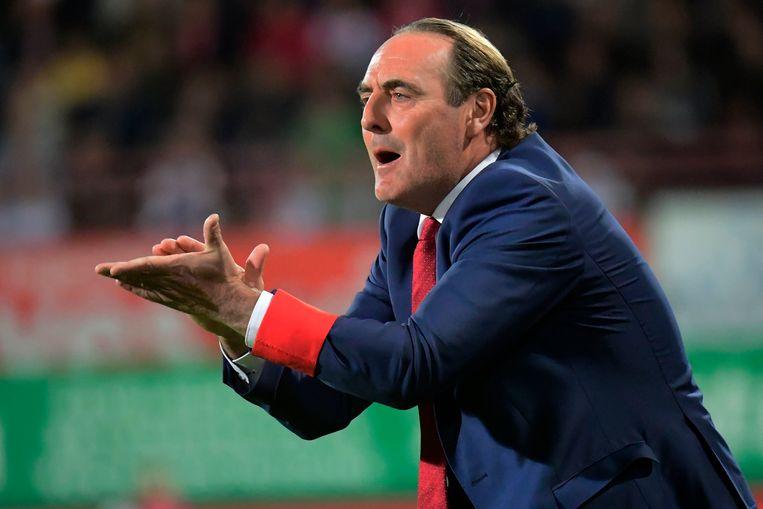 Yves Vanderhaeghe, trainer van KVK, komt naar Hooglede.