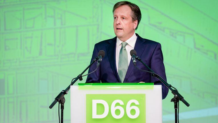 Pechtold vorige maand tijdens het congres van zijn partij in Arnhem Beeld anp