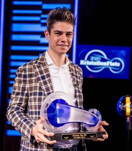 Wout van Aert décroche son premier Vélo de Cristal après une année exceptionnelle