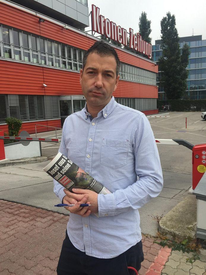 Nieuwschef Gregor Brandl.
